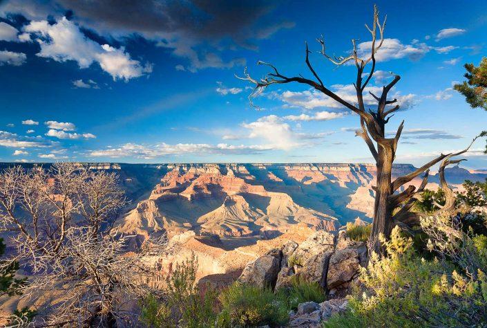 Sunrise over the Grand Canyon - Arizona