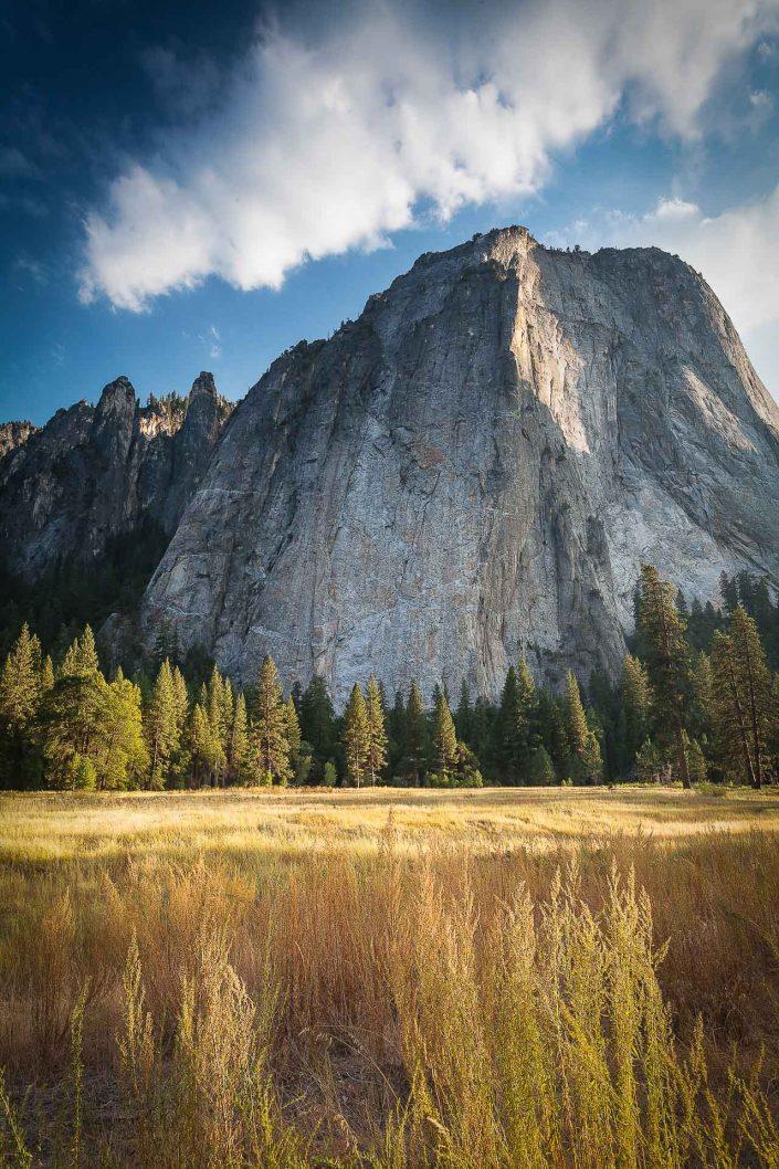 El Capitan at sunset in Yosemite National Park