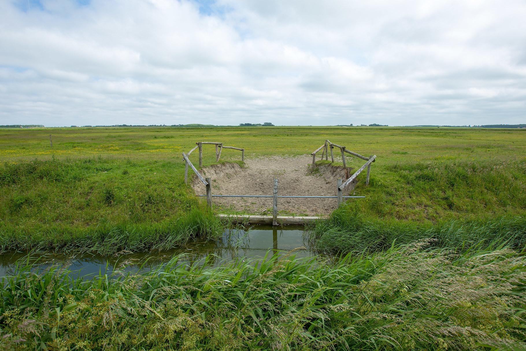 Voorbeeld foto Lauwersmeer
