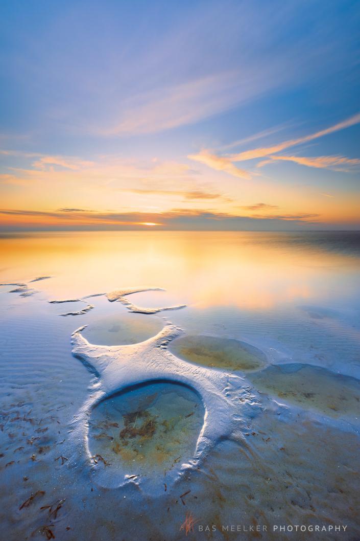 Sunset at Lake IJsselmeer - Workum, The Netherlands