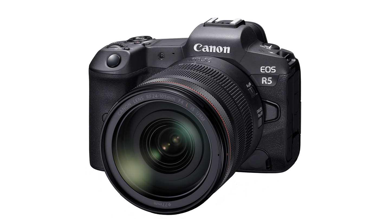 Fotoapparatuur voor landschapsfotografie - Canon EOS R5