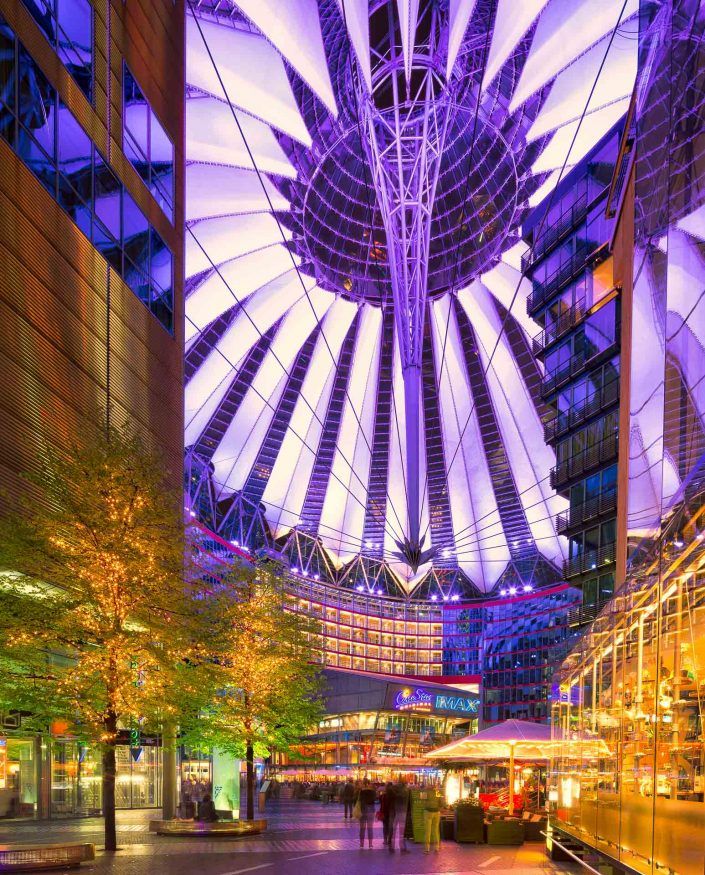 Sony Center - Potsdammer Platz, Berlin, Germany