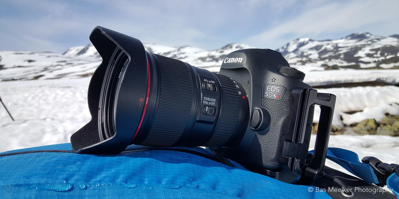 Foto apparatuur - Canon EOS 5Dsr in het veld