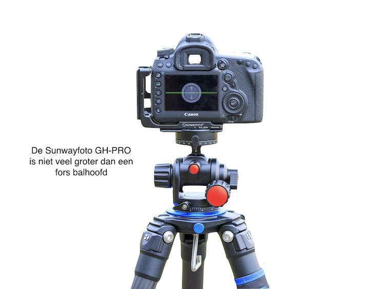 Geared head Sunwayfoto GH-PRO