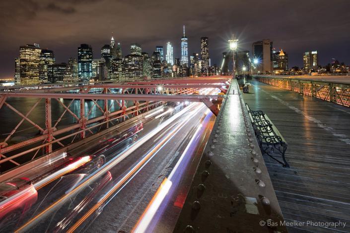View on the Brooklyn Bridge - New York, USA