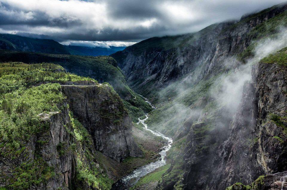 Voringfossen waterfalls - Norway