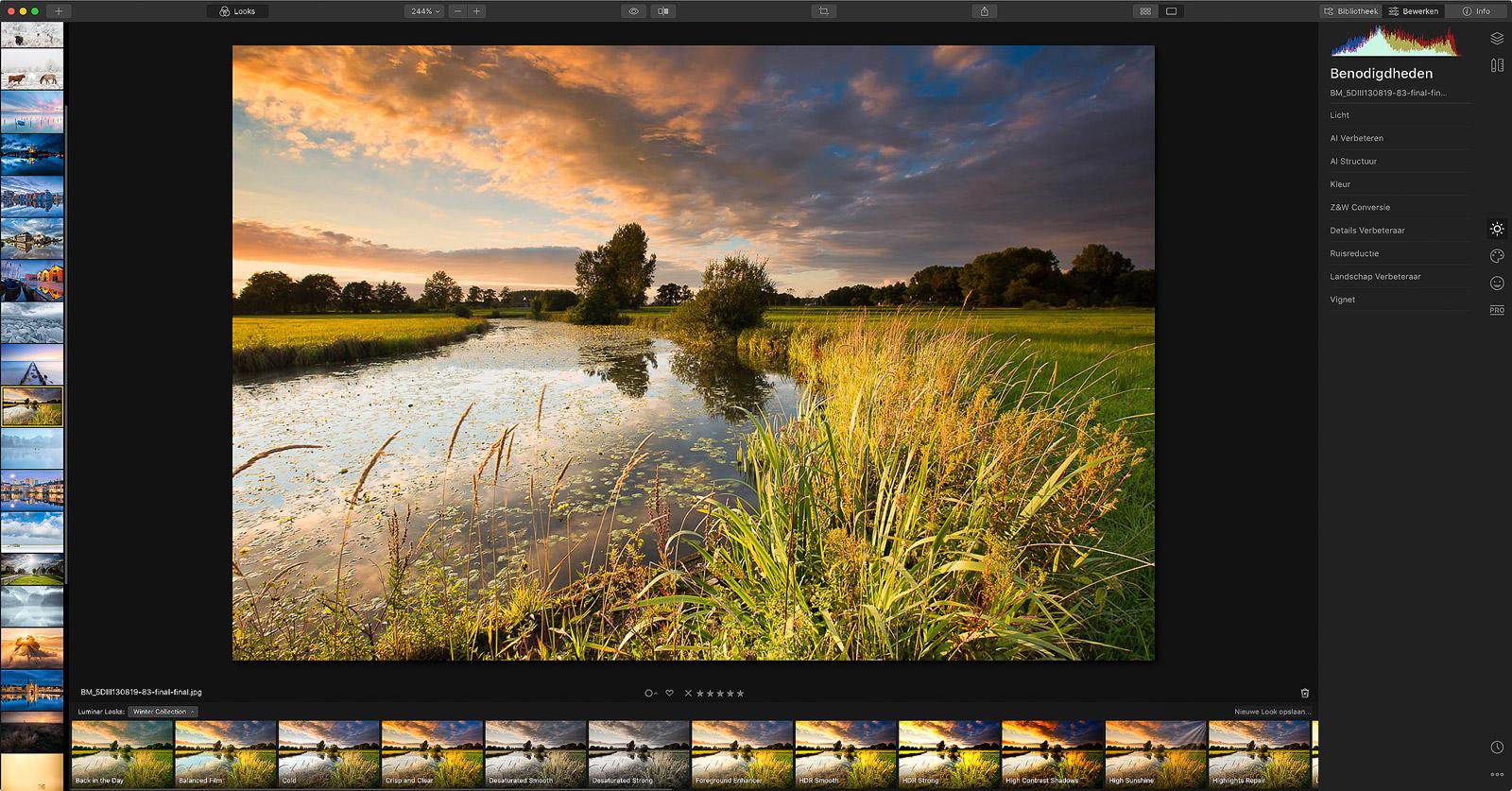 Beeldbewerking - Skylum Luminar foto bewerkings software