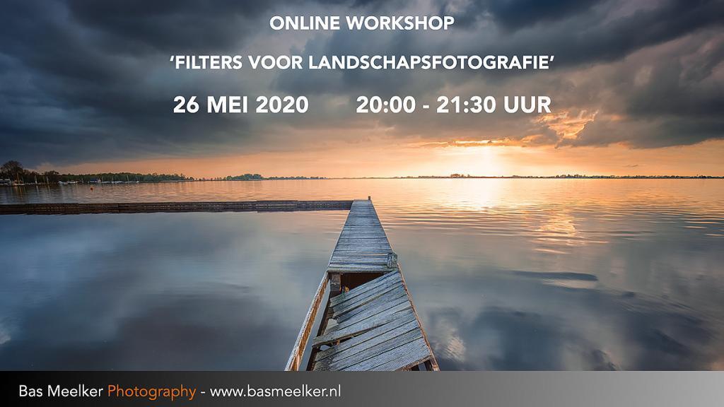 Online workshop filters voor landschapsfotografie 26 mei 2020