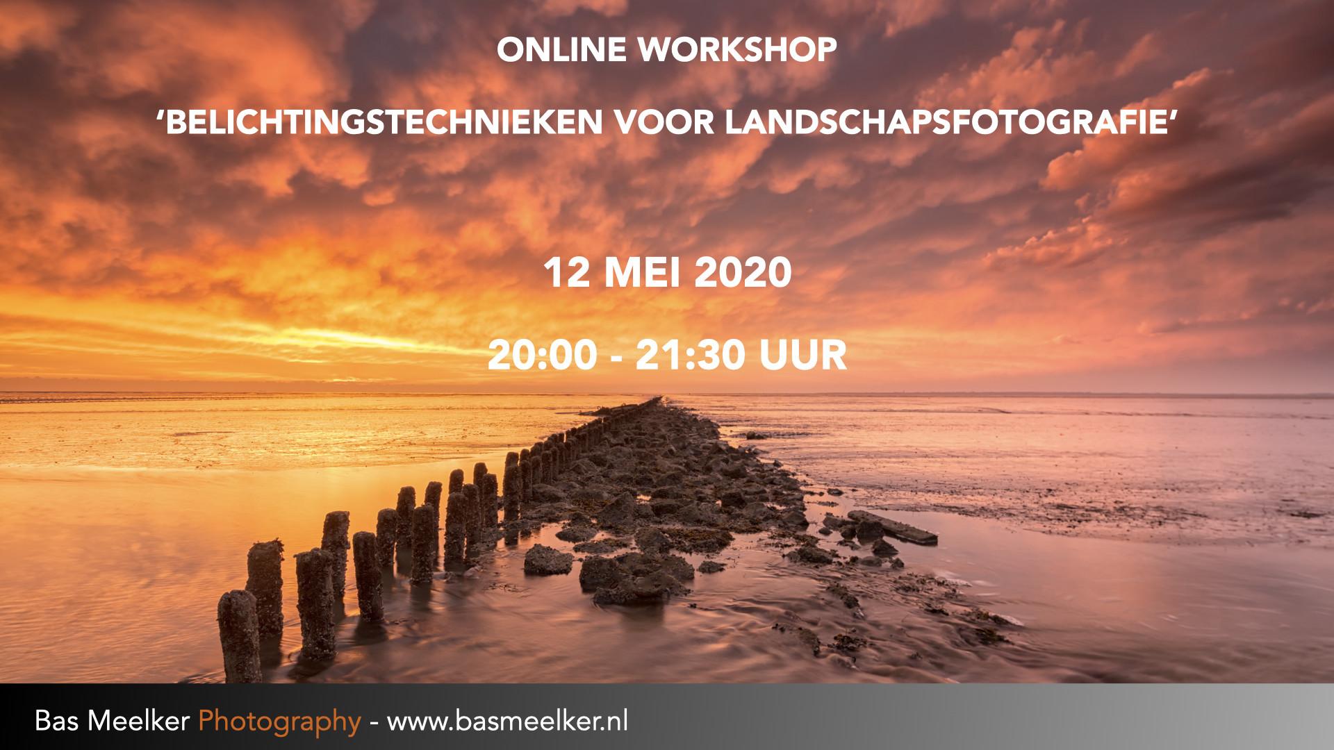 Online workshop landschapsfotografie 12 mei 2020