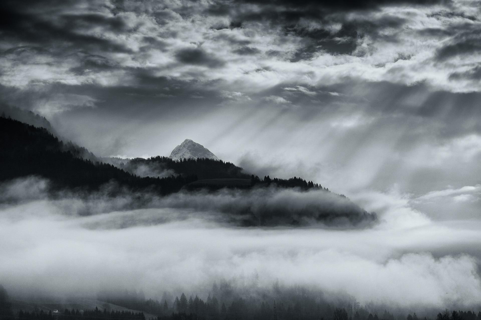 Mysterious mountain carnic alps carinthia austria