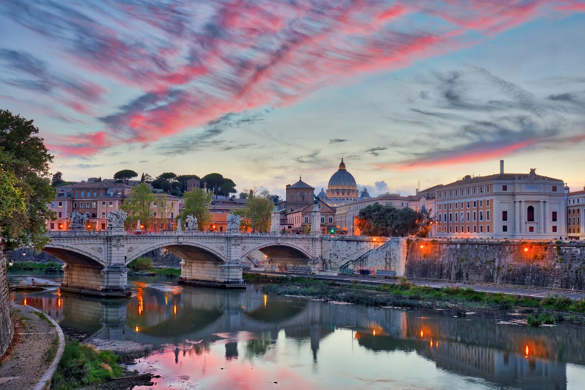 Cityscape image Rome Italy