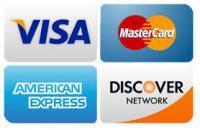 Je kunt ook betalen met creditcard