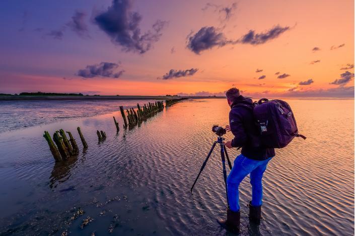 Prive workshop Landschapsfotografie van Bas Meelker